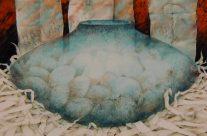 Nesting Pot, Oil, 22″ x 30″
