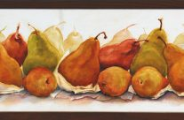 Presenting Pears, Oil, 7″ x 14″